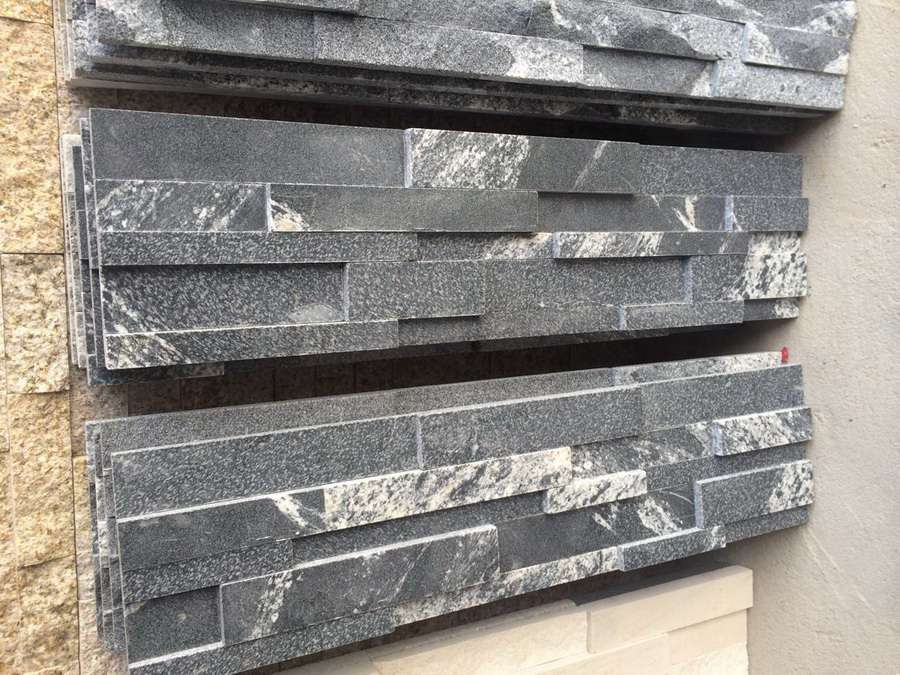 Virginia Black Granite Veneer
