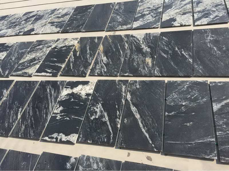Cosmic Black Granite Paver