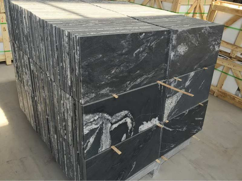 Cosmic Black Granite Polished