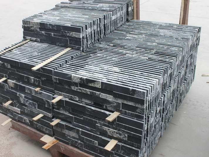Cosmic Black Granite Veneer